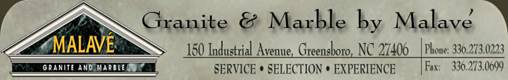 Malave Stone dealers in Greensboro NC