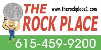 The Rock Place Sign